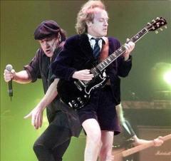 AC/DC en concierto