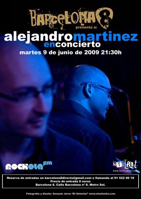 Concierto Rockola.fm con Alejandro Martinez