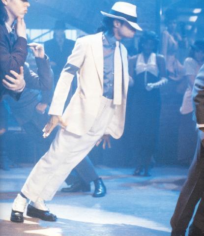 """""""Jacko"""" durante una actuación"""