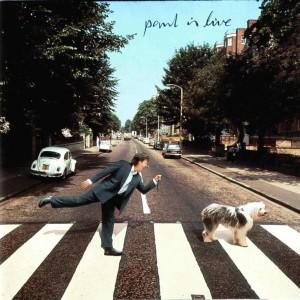 """portada de """"paul is live"""""""