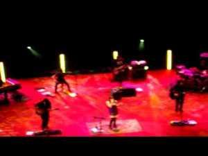 Amaral en concierto